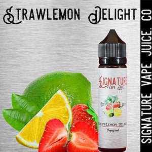 Signature Vape Juice - StrawLemon Delight