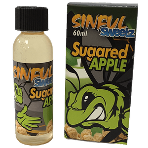 Sinful Sweetz E-Liquid - Sugared Apple-eJuice-Sinful Sweetz-60ml-0mg-eJuices.com