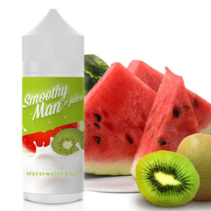 Smoothy Man E-Juice - Watermelon Kiwi-eJuice-Smoothy Man Ejuice-120ml-0mg-eJuices.com