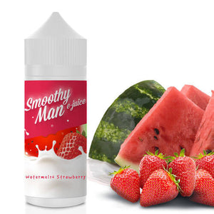 Smoothy Man E-Juice - Watermelon Strawberry-eJuice-Smoothy Man Ejuice-120ml-0mg-eJuices.com