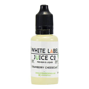 White Label Juice Co - Strawberry Cheesecake