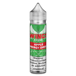 Wings E-Liquid - Green Apple Energy Drink