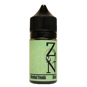 Zen by Thunderhead Vapor - Menthol Trends eJuice