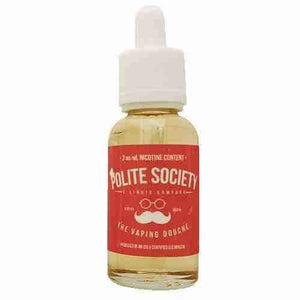 Polite Society E-Liquid - The Vaping Douche