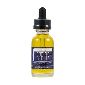 No Name Craft eJuice - SPF 15