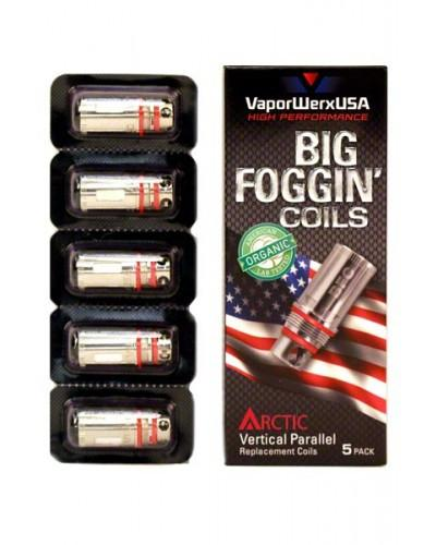 VaporWerxUSA Arctic Parallel Vertical AT401 0.5ohm (5 Pack)