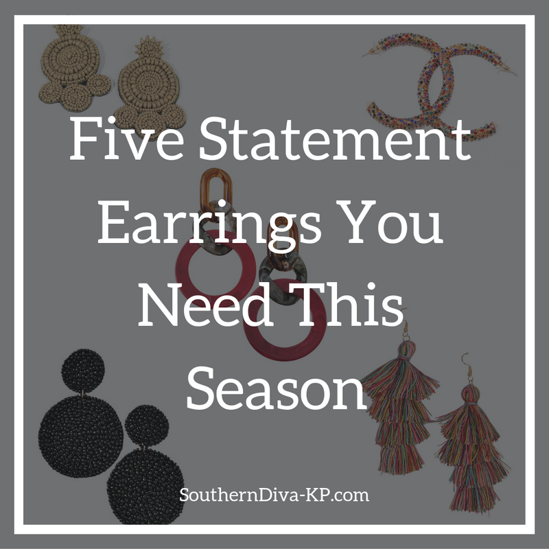 Five Statement Earrings You Need This Season
