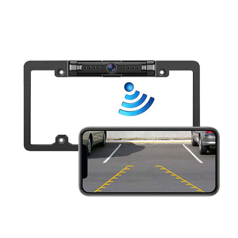 12-36V Wireless Car Rear View Camera WIFI Reversing Camera Dash Cam HD Night Vision Mini Body Tachograph for iPhone and Android - MASS Wholesalers