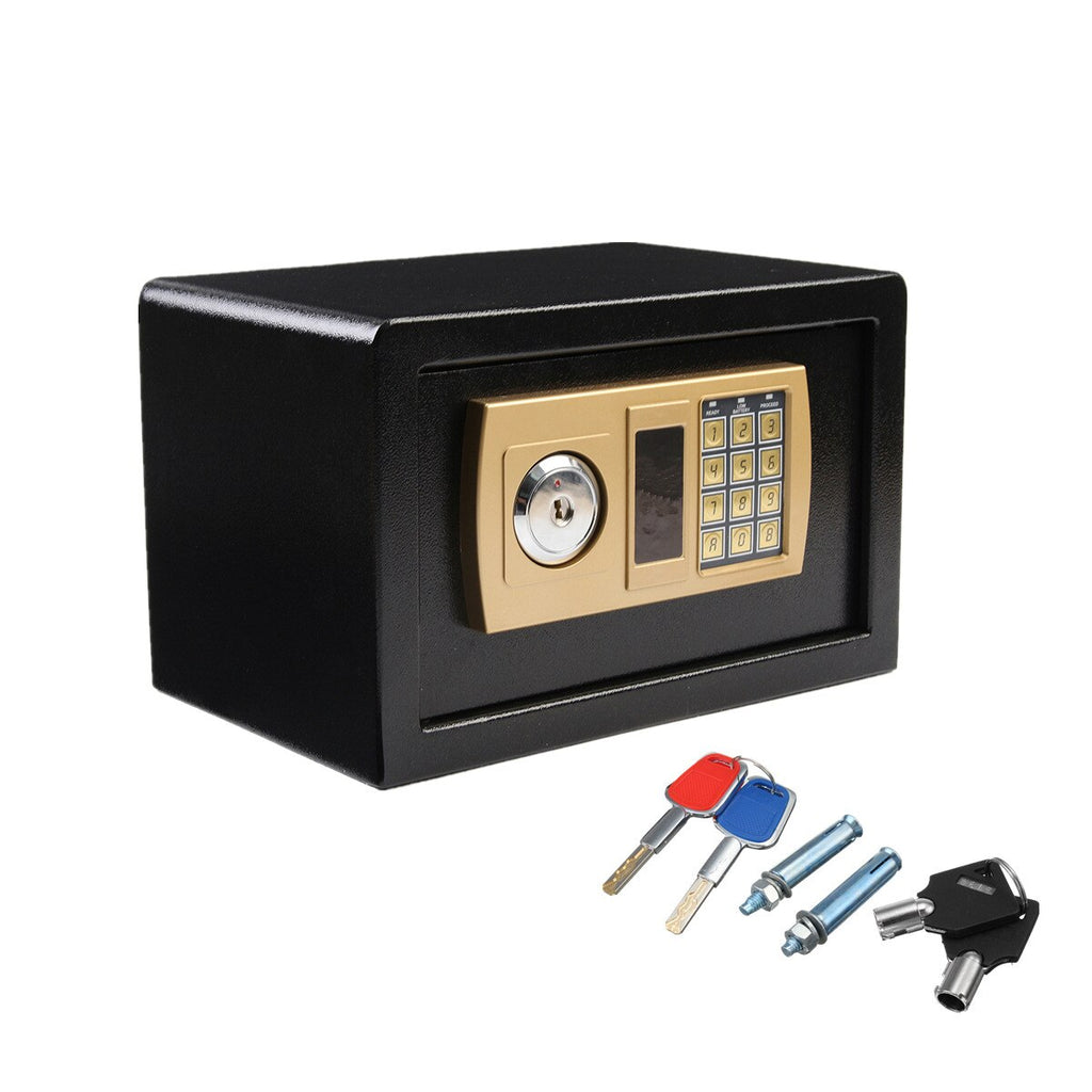 Safurance Digital Combination Fire Proof Safe With Keys And Mounting Bolts - MASS Wholesalers