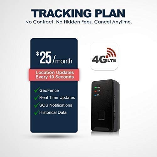 PRIMETRACKING Personal GPS Tracker- Mini, Portable, Track in Real Time - 4G LTE - SOS Button - Locator Tracking Device - for Kids, Spouses, Seniors, Pets, Cars, Trucks, Travel - Subscription Required - MASS Wholesalers