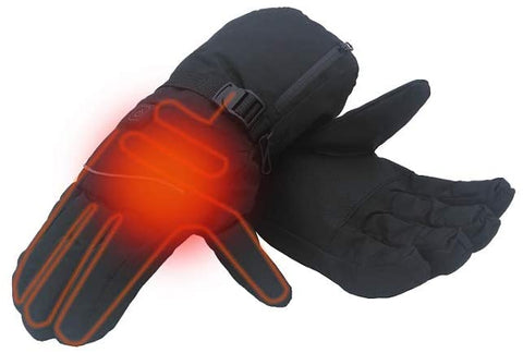 Esbuy Electric Heated Gloves,Battery Operated with 3 Level Temperature Controlled for Women Men Skiing Hiking,One Pair,Battery not Include - MASS Wholesalers