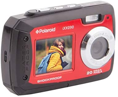 Sakar S090 Dual Screen Shock & Waterproof Digital Camera, Red - MASS Wholesalers