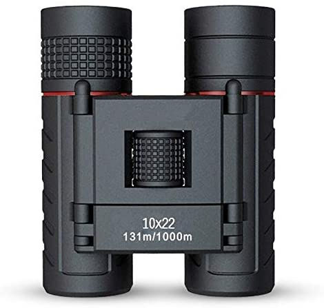 ZZOOI Compact 10X22 Binoculars Lightweight Folding Pocket Size Binoculars for Concerts Theater Opera Hiking Camping Travel - MASS Wholesalers