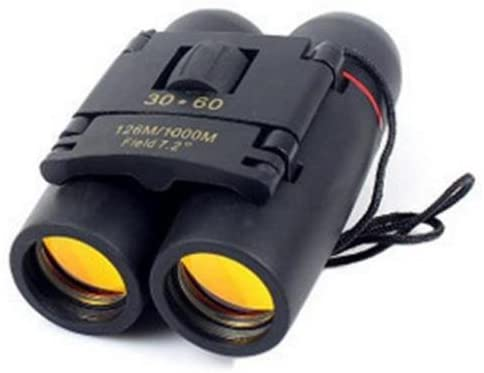 Folding Binoculars Wide Angle Binoculars High Definition Waterproof 30X60 Zoom Long Range Telescope for Travel and Outdoor Sports Bird Watching Hunting - MASS Wholesalers