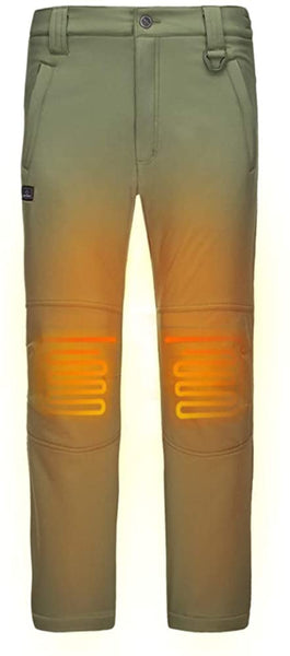 DEWBU Heated Pants with 7.4V Battery Pack Outdoor Electric Heating Trousers - MASS Wholesalers