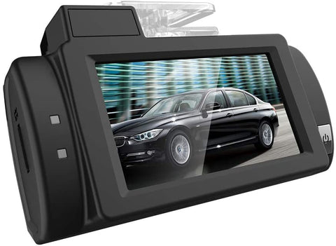 "UNITOPSCI Dash Cam New Vision 1080P FHD DVR Car Driving Recorder 2.7"" IPS Touch Screen 160°Wide Angle, G-Sensor, WDR, Parking Monitor, Loop Recording, Motion Detection - MASS Wholesalers"