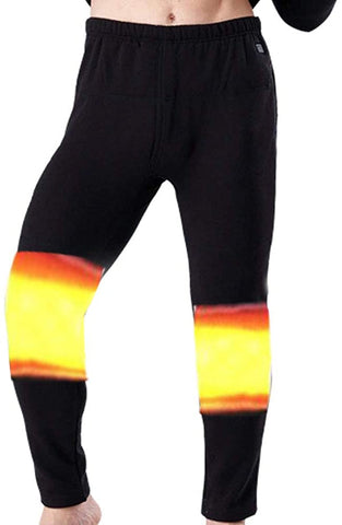 Heated Underwear Pant Heating Legging Electric USB Warm Trouser USB Battery Charge Hot Thick Pants - MASS Wholesalers