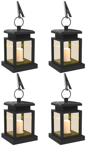 LEAGY LED Solar Mission Lantern, Vintage Solar Powered Waterproof Hanging Umbrella Lantern Candle Lights Led with Clamp Beach Umbrella Tree Pavilion Garden Yard Lawn Etc. Lighting & Decoration - MASS Wholesalers