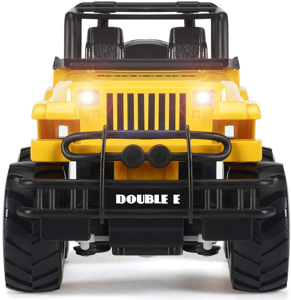 DOUBLE E RC Toy Trucks Rechargeable Racing Car Remote Control 1:20 with Lights Convertible Buggy for Kids 4 5 6 7 8 9 10 Years Old - MASS Wholesalers