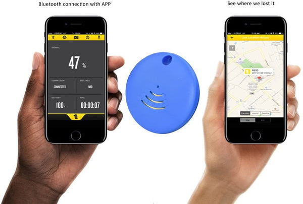 Key Finder. GPS Tracker. Remote Shutter. IP67 Waterproof. Find Anything App Control for iOS or Android OS - MASS Wholesalers