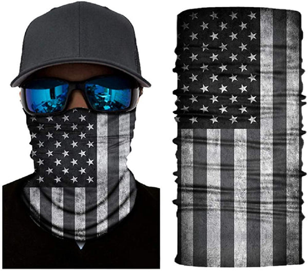 Seamless Neck Gaiter Face Mask Soft Bandana for Outdoor Cycling Hiking Fishing - MASS Wholesalers