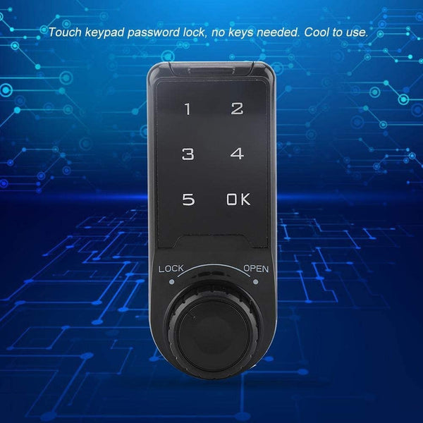 KSTE Digital Single Deadbolts,Keypad Lock, Contemporary Electronic Keypad Single Cylinder Deadbolt with 1-Touch Motorized Locking, Digital Combination Double Security - MASS Wholesalers