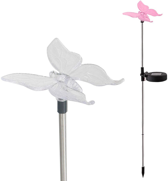 Candle Choice Color Changing Solar Garden Stake Light with Vivid Figurine – Lily, LED Garden Light, Landscape Light, In-ground Light Outdoor Light for Garden Decoration and Flower Beds - MASS Wholesalers