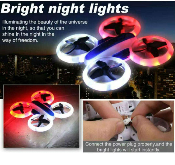 SkyCo New 532 2.4GHz RC UFO  Neon Light Quadcopter - MASS Wholesalers