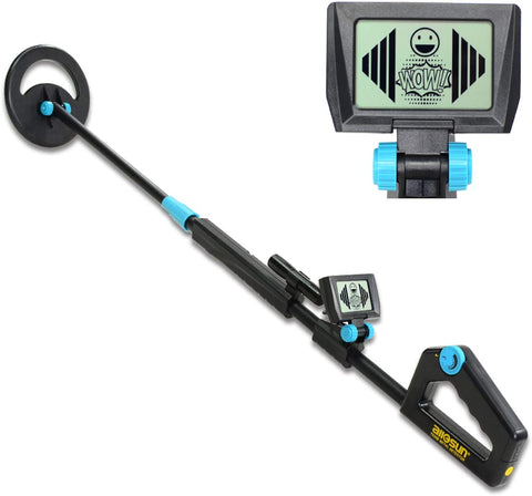 allsun TS20B Waterproof Metal Detector Junior Beginner Kids Underwater Beach Yard Ground Handheld Metal Detector LCD Adjustable Length Gold Hunter Searching - MASS Wholesalers