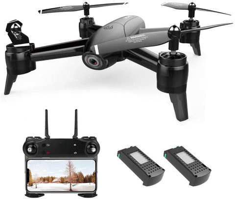 Drone with Camera 1080P HD Drones with Camera for Adults Remote Phone APP Gesture Controlled FPV Drone Real-time Video Feed Altitude Hold One-Key Return Mini RC Quadcopter for Kids Adults Beginners - MASS Wholesalers