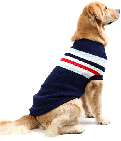iFCOW Pet Dog Sweater Jacket Warm Coat Puppy Cat Winter Clothes Apparel - MASS Wholesalers