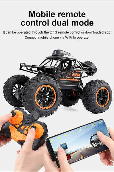 Leadland,RC Cars 2.4Ghz Remote Control Car with 720P FPV WiFi Camera, 1:18 Scale Off-Road - MASS Wholesalers