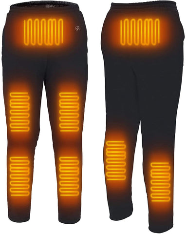 Heated Pants USB 5V Electric Heating Pants for Men Women Outdoor Winter Heating Trouser, 8 Heating Zone(Battery Not Included) - MASS Wholesalers