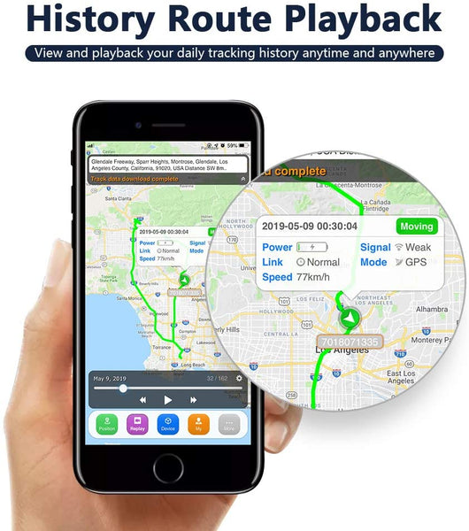 SinoTrack ST-903 Vehicle Car GPS Tracker, Anti Lost Alarm Locator Mini Real-Time Location Tracking Device, Voice Monitor Car Motorcycle GPS Tracker Device for Truck Taxi Kids Pets - MASS Wholesalers