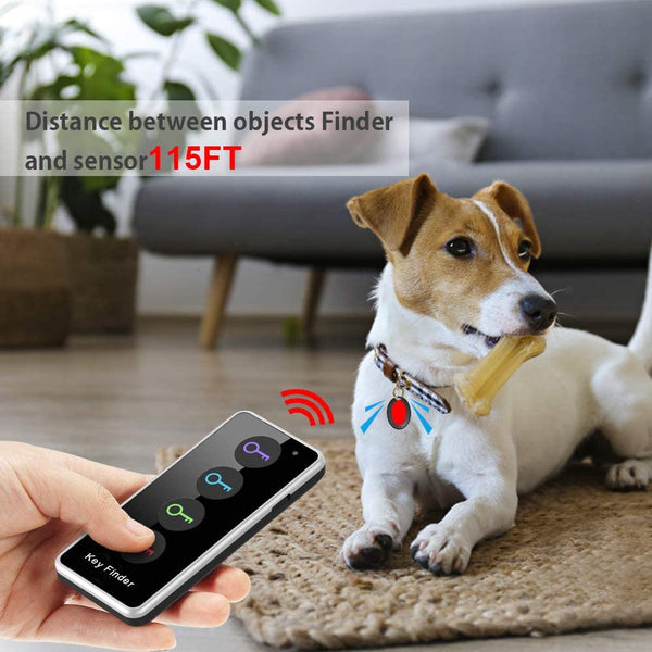 Key Finder Locator, Item Remote Keys Finder Make Noise Anti Lost, Ldcx Wireless Rf Locator Tracker 1 Transmitter 4 Receivers w/Led Flashlight,115ft Working Range for Finding Pet Wallet Car Key Bags - MASS Wholesalers