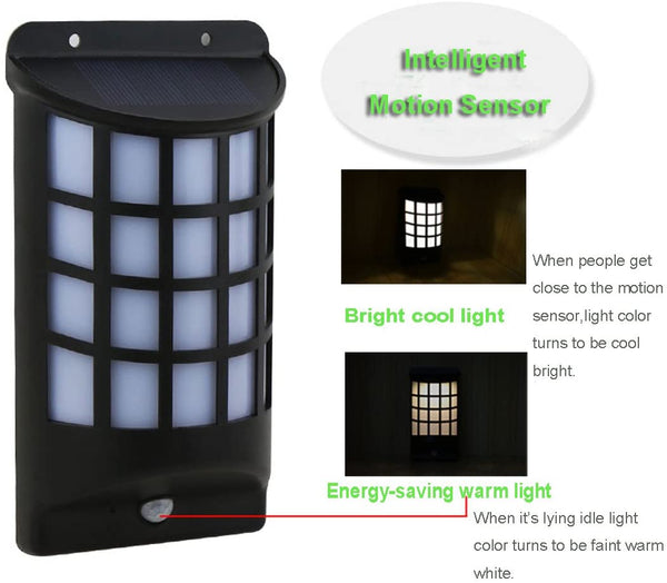 Fina Energy-Saving Solar Security Light Solar Motion Light for Garden, Deck,Yard,Driveway, Easy Install - MASS Wholesalers