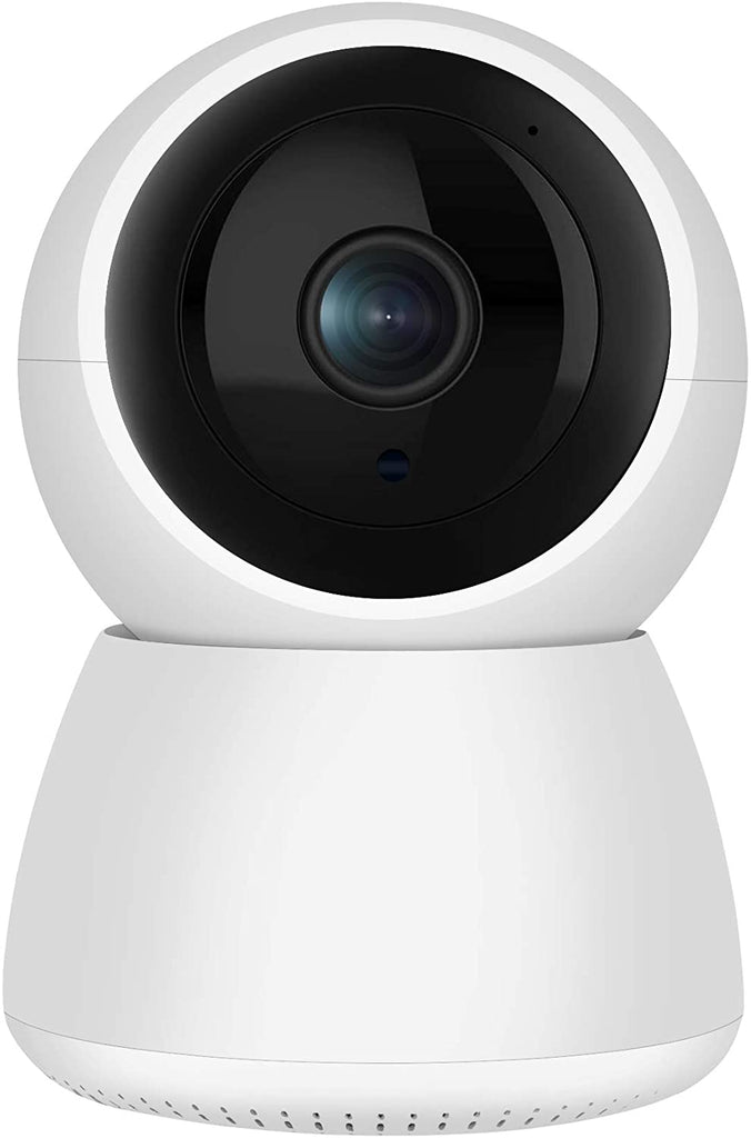 Dome Security Camera for Home, Pan/Tilt WiFi Smart Home Dome Camera for Baby/Pet/Nanny Surveillance System with 2-Way Audio, Motion Detection Night Vision, Support SD Card Storage&Cloud Data Storage - MASS Wholesalers