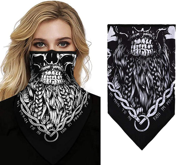 DAVIDLEE Summer Balaclava Face Mask Neck Gaiter Dust Wind UV Sun Scarf Cycling Motorcycle Bandana for Women Men - MASS Wholesalers