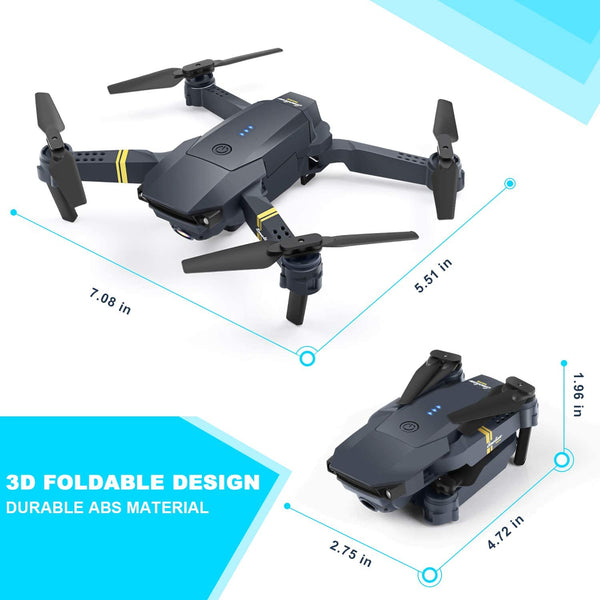 ORRENTE Mini RC Drone for Kids 2.4Ghz 4 Channels Quadcopter Drone Toy for Boys/Beginners, Headless Mode 3D Flips RTF with 2 Modular Battery and 4 Guards - MASS Wholesalers