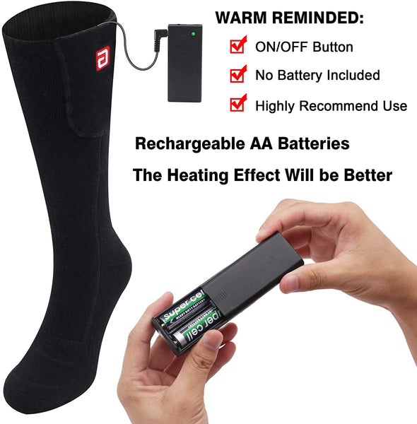 Electric Heated Socks,Battery Operated Warm Heating Sox Foot Warmers - MASS Wholesalers