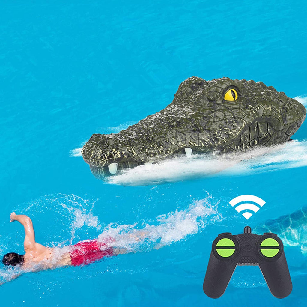 Remote Control RC 2.4G High-Speed Waterproof Crocodile Head - MASS Wholesalers