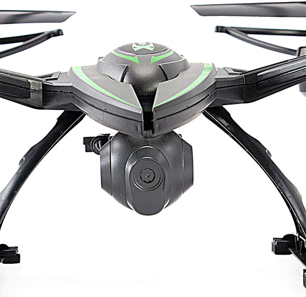 KiiToys Drone with Camera Quadcopter RC Drones Helicopter - Beautiful HD Cam, Air Pressure Sensor Altitude Lock, Easy Control Headless Mode, Return Home Key, 6 Axis Gyroscope - MASS Wholesalers