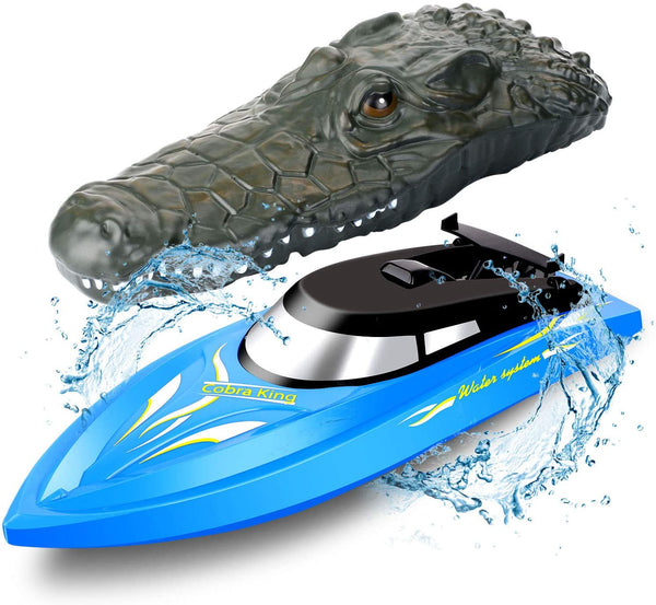 High Speed Remote Control Boat 2.4GHZ  & Crocodile Head Combo - MASS Wholesalers