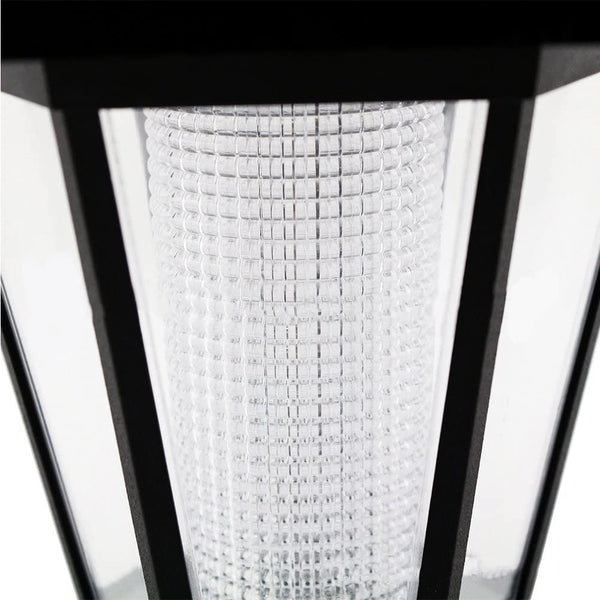 ZHANGLI Solar Garden Light, Waterproof Hanging Lamp Lantern, LED Coachs Light for Garden, Yard, Hiking or Emergencies - MASS Wholesalers