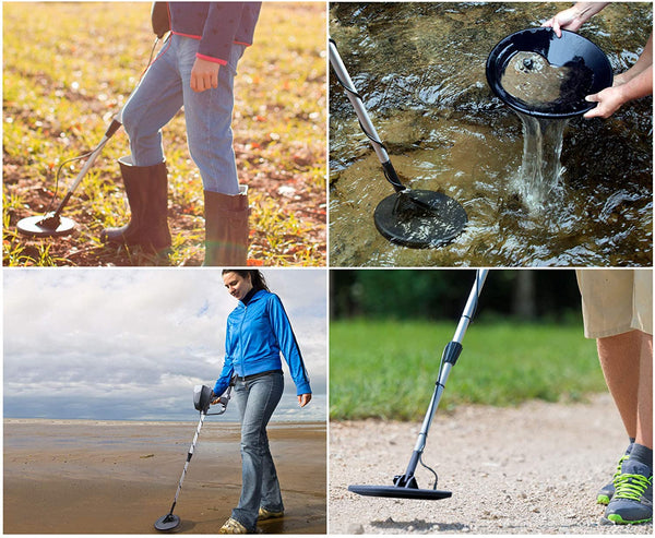 The Paragon Underground Metal Detector, High Accuracy Sensitive Search, Waterproof Coil Outdoor Treasure Hunter, 2 Operation Modes, Display, Perfect for Beginners or Professionals - MASS Wholesalers