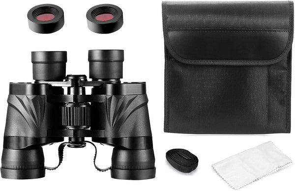 MaxUSee 8X40 HD Binoculars for Kids and Adults, Compact Binoculars BAK4 Prism FMC Lens for Travel Hiking Bird Watching Sightseeing Sports and Concerts - MASS Wholesalers
