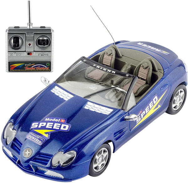 Liberty Imports Super RC Remote Radio Control Convertible Toy Race Car - 1:18 RTR Sports Coupe Vehicle Model Racer (Colors Vary) - MASS Wholesalers