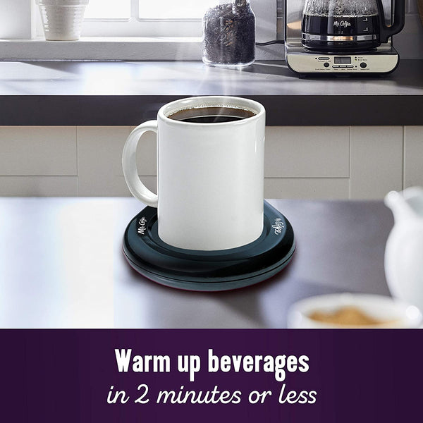 Mr. Coffee Mug Warmer, Home, Office, Black - MASS Wholesalers