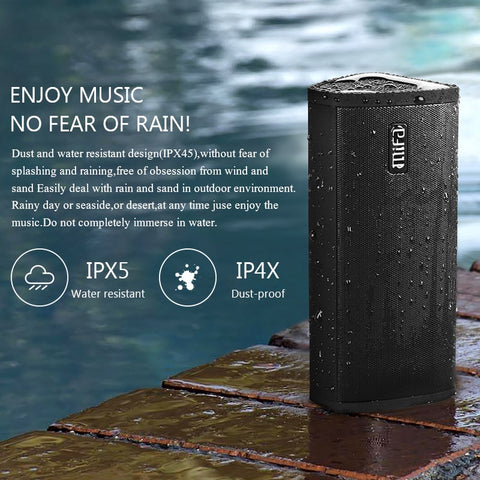 Mifa Bluetooth Speaker Portable Wireless Loudspeaker Sound System 10W stereo Music surround Waterproof Outdoor Speaker - MASS Wholesalers