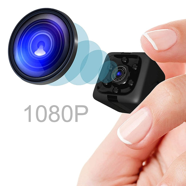 Mini Camera 1080P Small Cam Spy Camera, Sensor Night Vision Camcorder Mini Video Camera DVR DV Motion Recorder Camcorder - MASS Wholesalers